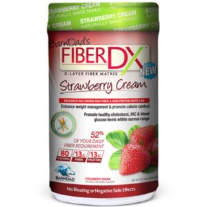 Strawberry Cream Fiber Shake