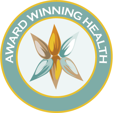 award winning health logo